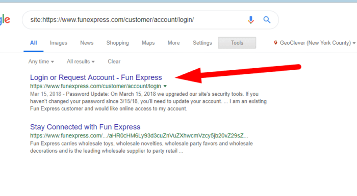 28 - Fun Express SEO mistakes 5