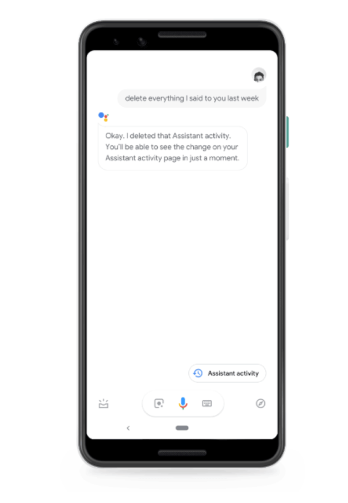 Google Assistant Data Security