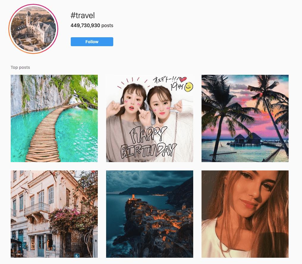 #Travel on Instagram