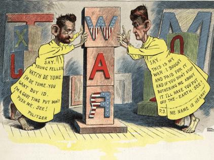 Spanish-American war coverage