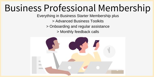 Business Professional Membership