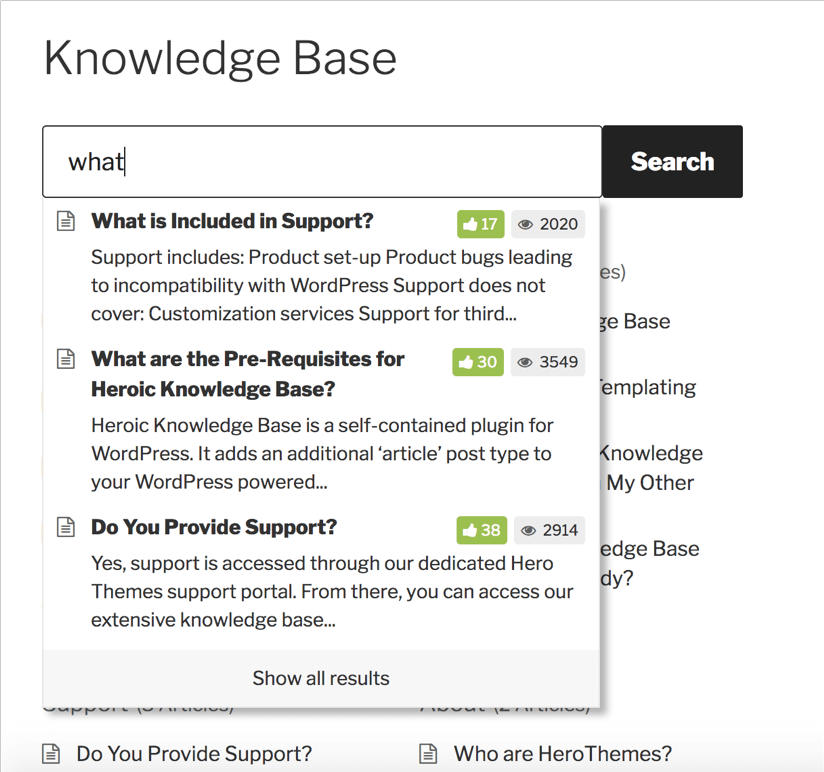 Setting up your knowledge base
