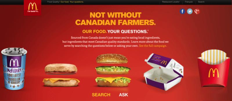 McDonald's Question Time