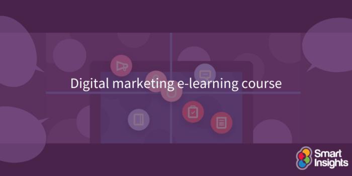 Digital marketing e-learning course