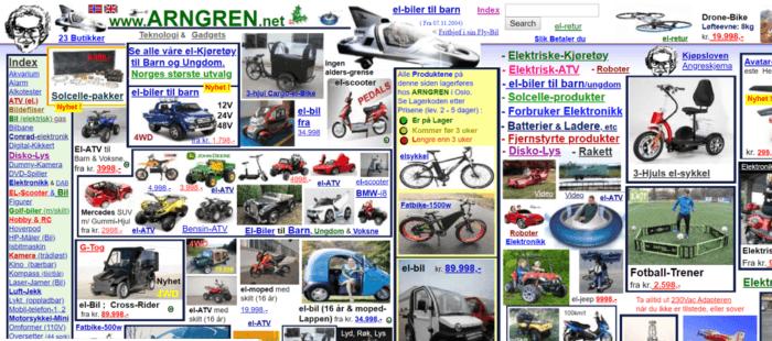 Arngrn website