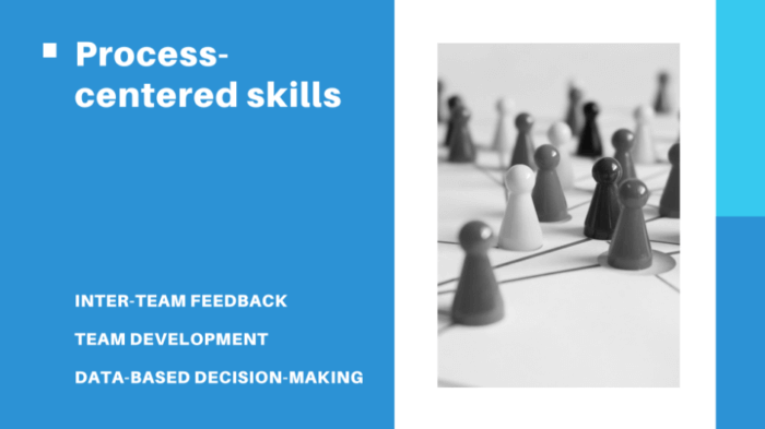 Process-centred skills