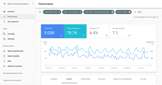 Compare performance across devices