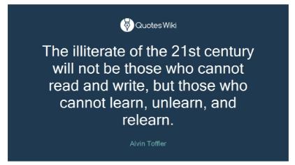 Alvin Toffer Quote