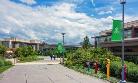 Microsoft campus in Richmond, Washington
