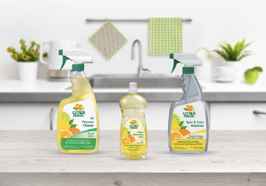 Citrus Magic approached KPITarget with goals to increase brand recognition, drive foot traffic and increase in-store sales. Image courtesy of Citrus Magic