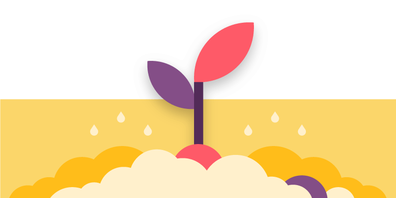 footer banner illustration