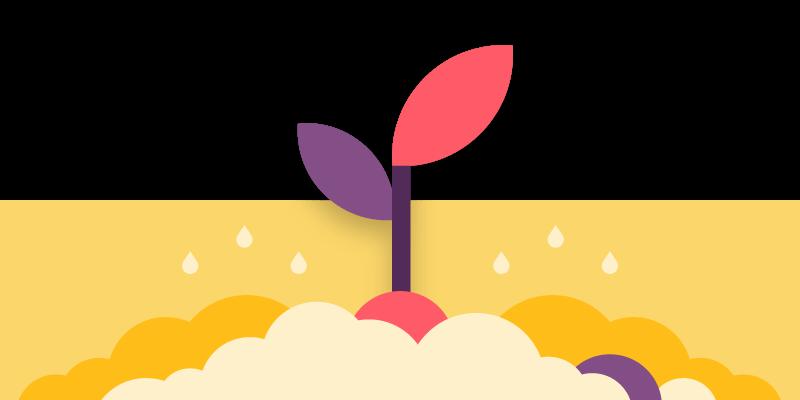 footer banner illustration