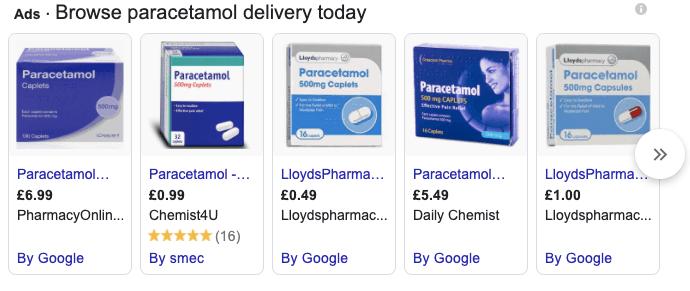 Pharma Ads high intent