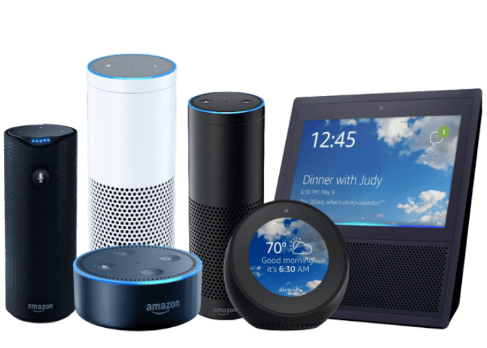 Voice search for financial services