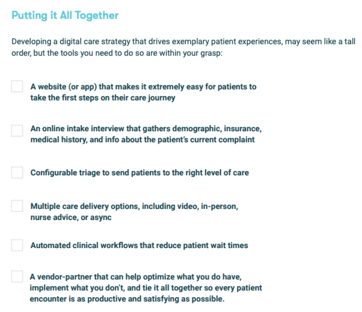 Digital medical marketing