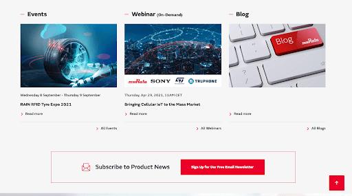 Electronics marketing digital experience